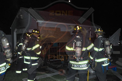 Seaford F.D. Garage Fire 3870 Maple Ave. 8/9/14