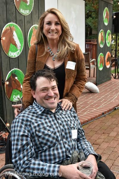 Kristi Steadman and enock Gidden