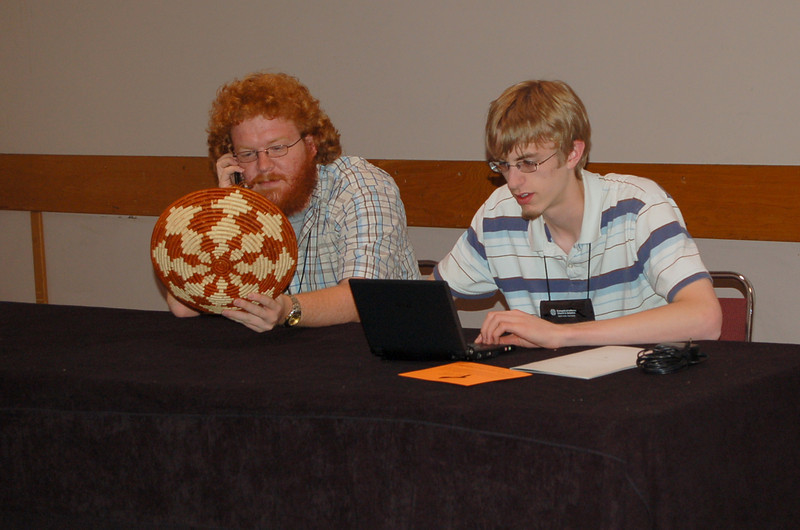 Scott blogs about the incredible basket while Zach calls all his closest friends to inform them of the blog posting.