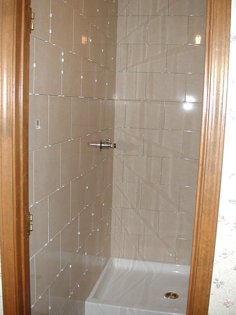 2001-2002 Master Bath Shower Rebuild