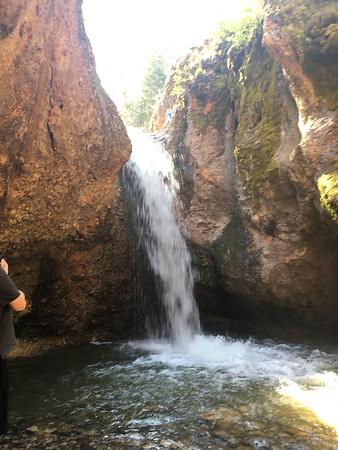 Grotto Falls & Meadow Lava Tubes - May 2017