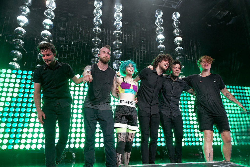 . Paramore at DTE on 7-8-14. Photo by Ken Settle