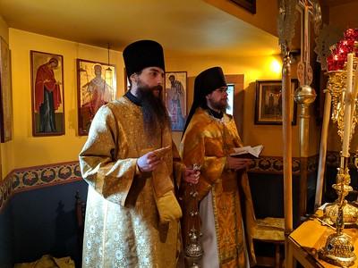 First Vigil & Liturgy - Hieromonk Macarius & Hierodeacon Basil
