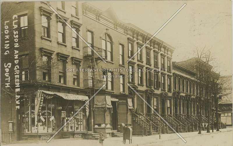 Classon And Greene Ave., Looking South