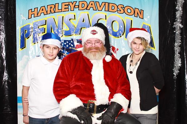 Harley-Davidson Pets with Santa 12-13-2014 Singles