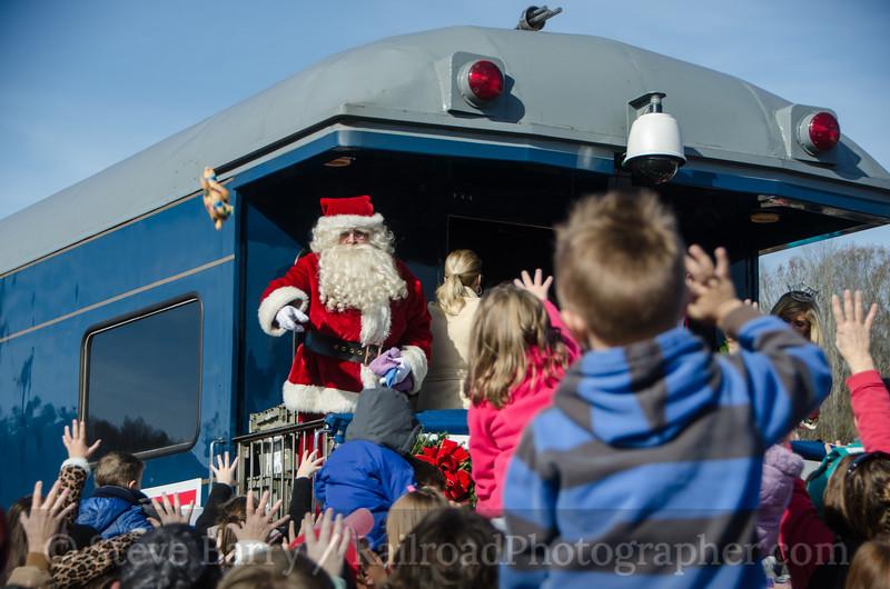 CSX Santa Train St. Paul, Virginia November 22, 2014
