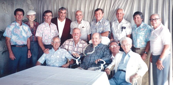 1989 Past Presidents Lunch 12-1989