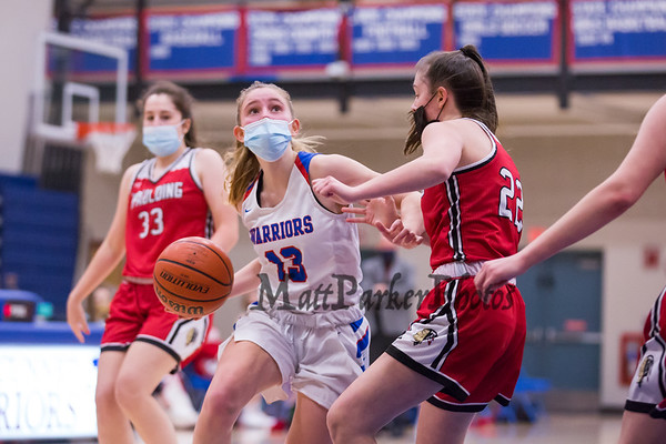 2021-1-15 WHS Girls Basketball vs Spaudling