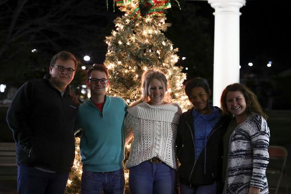 SGA Christmas Tree Lighting