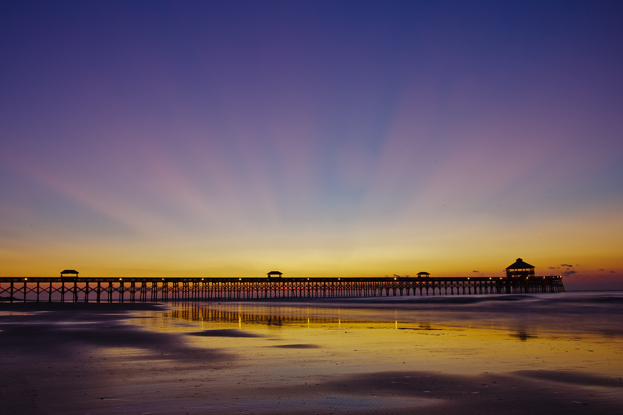 Folly Beach Sunrise | Fall 2011 | Folly Beach, SC