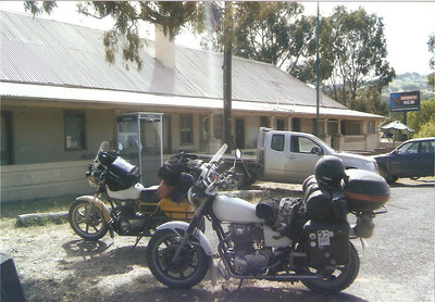 Two old farts on two old bikes