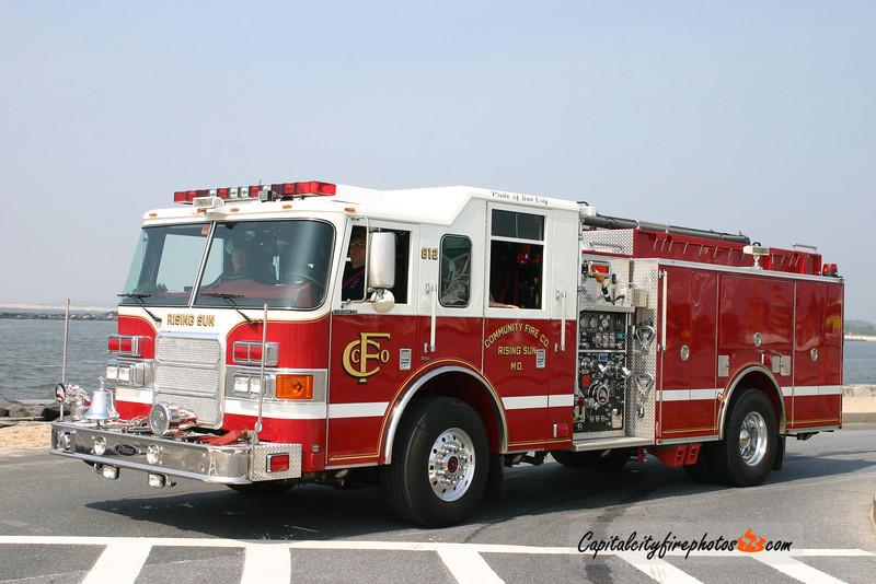 Rising Sun Engine 812: 2007 Pierce Enforcer 1500/1000