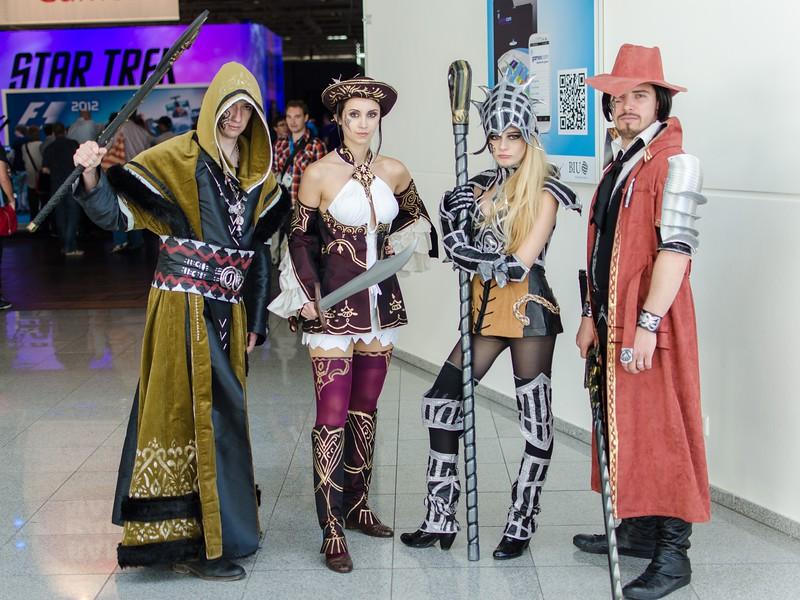 Cosplayers @ Gamescom 2012