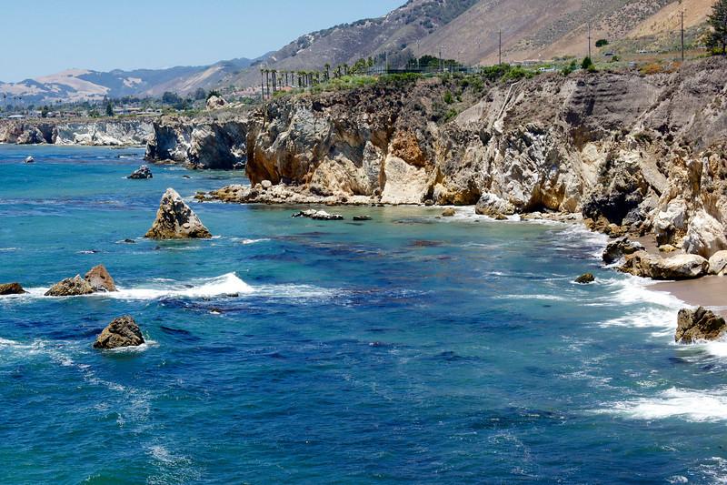 Sea cliffs, Pismo Beach