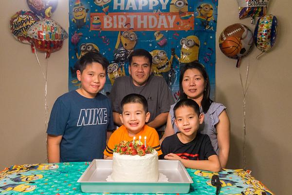 Evan's 3rd Birthday