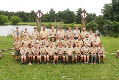 Firelands Scout Camp Staff 2018