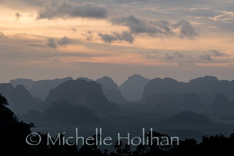 View from Wat Tham Seua Krabi, Krabi, Thailand