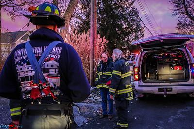 11-22-15 Structure Fire, Rochambeau Rd.