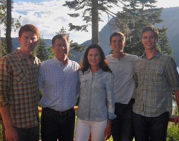Charles Morris Family 2013
