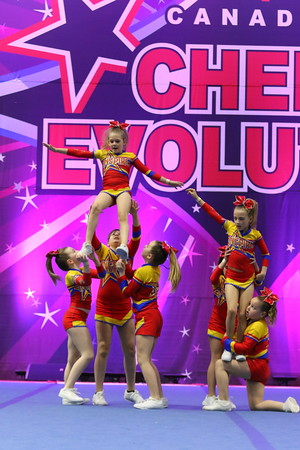 Chatham Inspire Cheer  Sparks - Youth Small 1