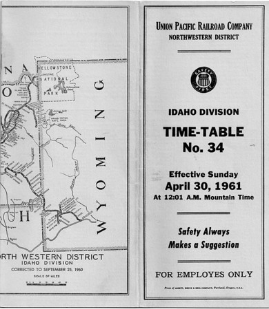 Idaho Div'n. April 1961