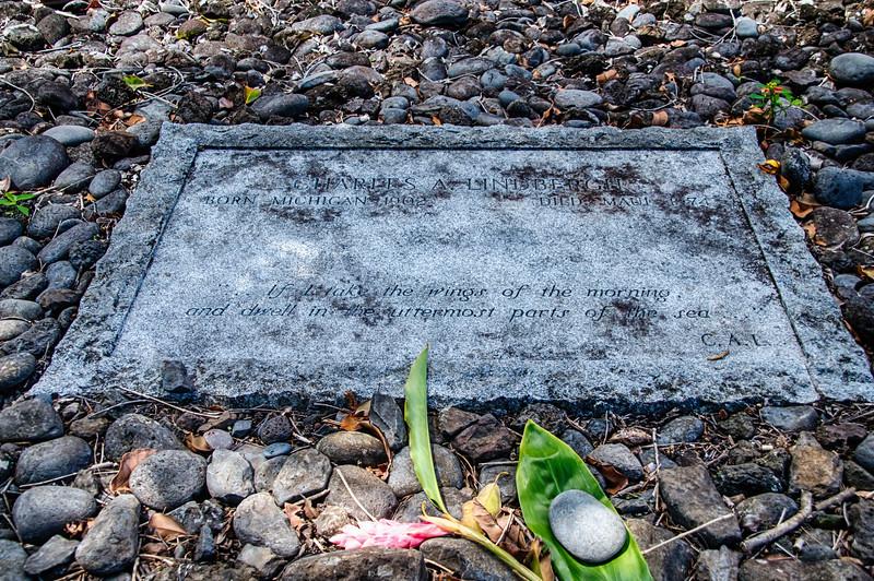 Charles Liimbergh's headstone
