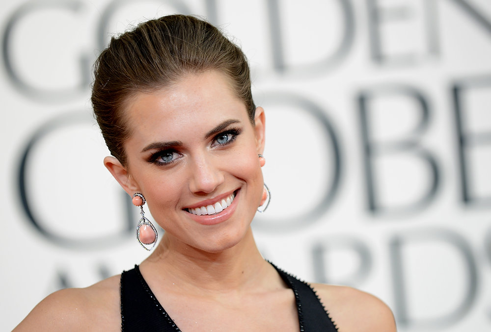 Description of . Actress Allison Williams arrives at the 70th Annual Golden Globe Awards at the Beverly Hilton Hotel on Sunday Jan. 13, 2013, in Beverly Hills, Calif. (Photo by Jordan Strauss/Invision/AP)