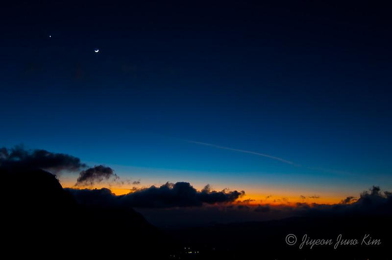 Sunrise at Mt Pananjakan