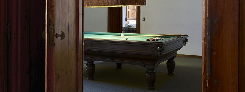 Billiard room, first floor