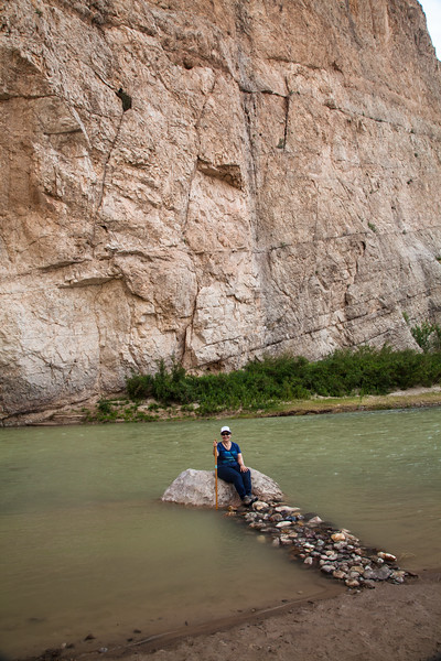 On the way to Boquillas Canyon