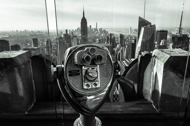 Binoculars Top of the rock b&w.jpg