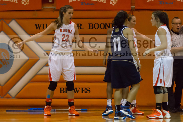 Boone Girls Varsity Basketball #23 - 2013