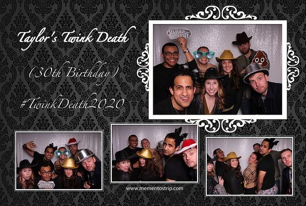 Taylor's Twink Death