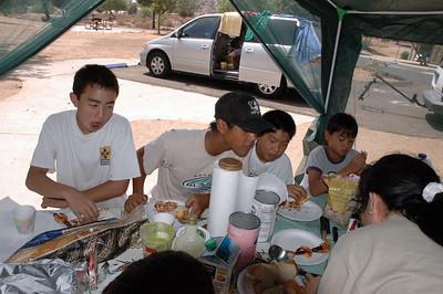8/21/2004 - Chen's Camp @ Lake Perri