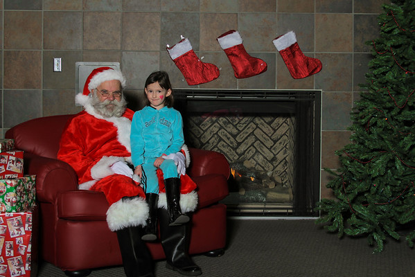Santa Comes to Central