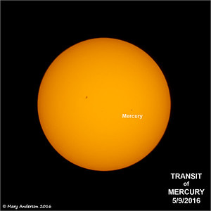 Mercury Transit 5/9/16
