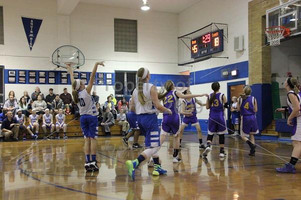7-8th girls bball v. orangeville . 1.25.16