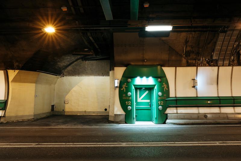Door to the emergency shelter number 12 - Samuel Zeller for the New York Times