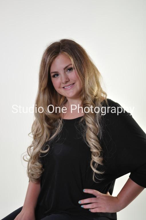 Hair model Megan