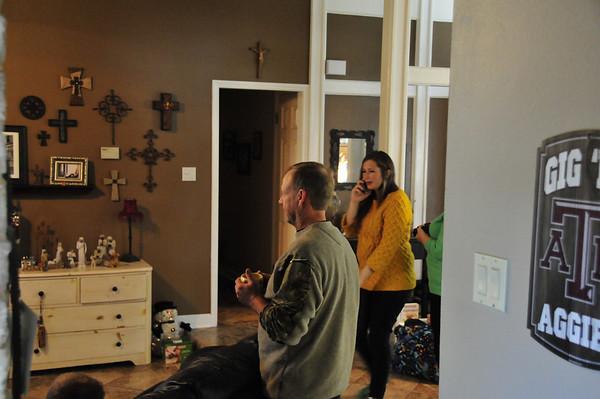 2013 Xmas Tina's Family San Antonio