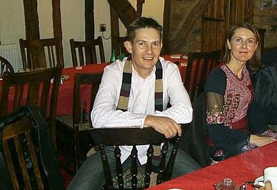 Brad & Zdenka Xmas 2005