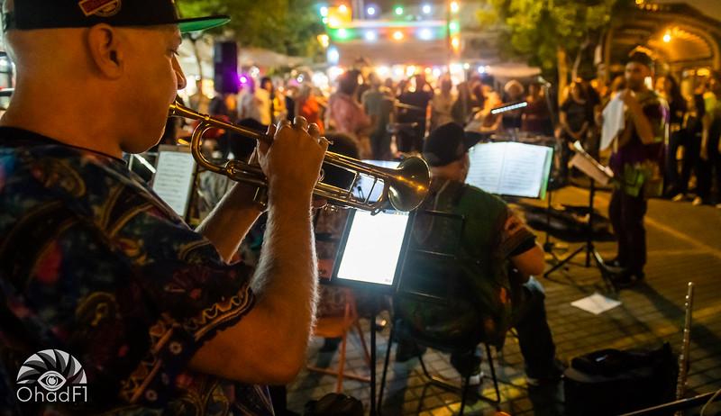 Street big band Jaffa