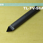SKU: TL-TV-S6A4-70, 6mm 70° V-Profile Tungsten Carbide Stone Carving Router Bit with 0.4mm Tip, Full Length ⩾40mm