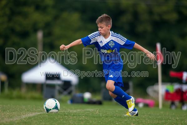 TCYSA ROYAL vs TCYSA U12 TWINS NAVY - U12 Boys 8/17/2014