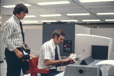 Photos from work in 1973