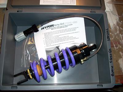 Rear Shock Install