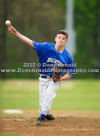 5/3/2012 - Freshman Baseball - Braintree vs Needham