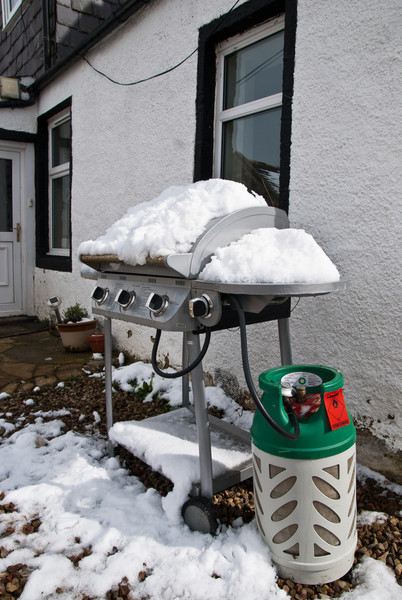 [Week 14: 2nd-8th April] One day it was thw BBQ, next it was de-icer.