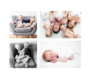 Newborn Family Photos Pacific Beach - Cameron