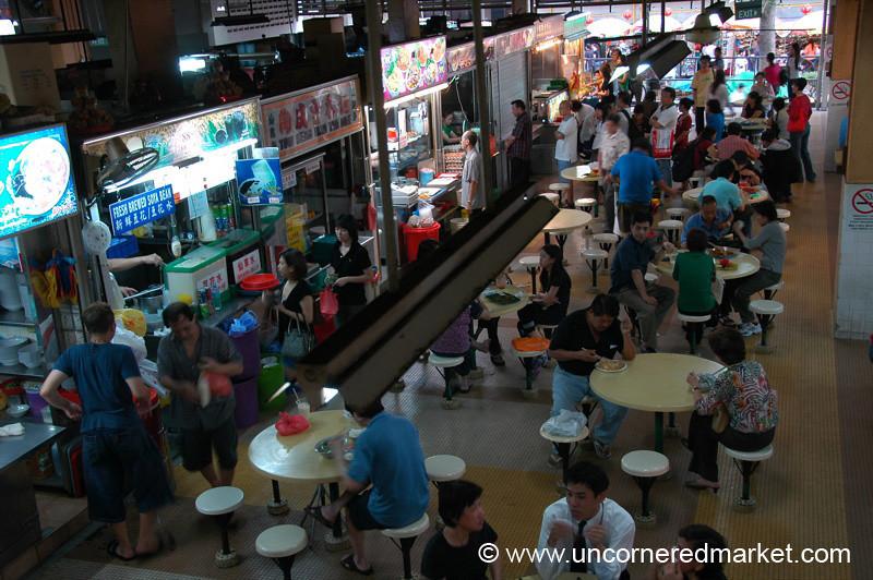Chinatown Hawker Center, Singapore